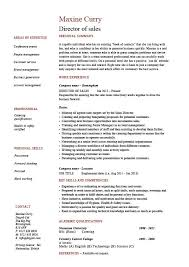 Director of sales resume, sample, example, job description, marketing,  manager, work, advertising