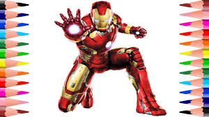 Iron man coloring pages for you to paint colors and have fun every day from our website giving color to black and white pictures. Painting Iron Man Coloring Pages Coloring The Avengers Coloring Book For Kids Youtube