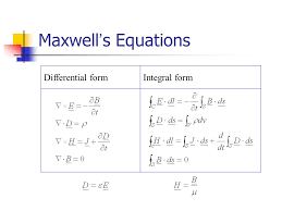 3 maxwell s equations diffeial form integral form