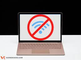 Tại sao laptop bắt wifi yếu?