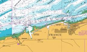 Dover Strait Chart Dunkerque And Approaches Marine Chart Be_1350_0