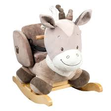nattou animal rocker  months toddler ride on rocking horse  ebay