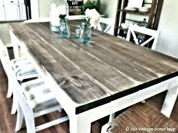 dining room table plans free farmhouse oak extendable ana white