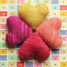 Knitted Heart Pattern Mesmerizing Knitted Heart Pattern Free Images Knitting Patterns Free Download