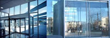 commercial glass doors door repair