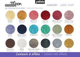 Faux Color Chart Color Chart Fantasy Moon Pebeo Moon Painting Pebeo