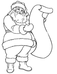 Small Picture Santa Claus Coloring Pages Happy Santa Claus Coloring Pages