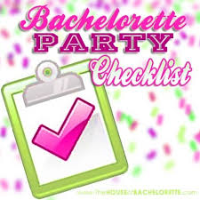Party Planning Lists Free Bachelorette Party Checklist The House Of Bachelorette