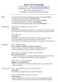 Most Recent Resume Format 2013 College 10 Latest In Word Remarkable