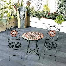 bistro table set outdoor mosaic bistro table set bistro table set 3 piece mosaic bistro patio