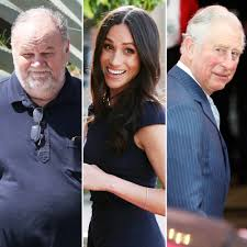Meghan Markle's Dad Reacts to Prince Charles Replacing Him