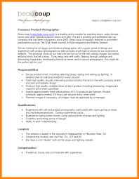 Photographer Resume Sample 60 photographer resume examples way cross camp 38
