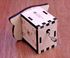Kikkerland make your own music box kit $20.26. Kokomu Piggy Diy Music Box Kits Wooden Music Box For Her Shop Kokomu Music Box Diy Kits Pinkoi