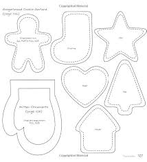 Gingerbread Man Felt Board Story Template Gingerbread Cookie Template