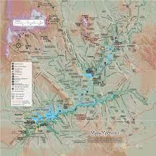 Lake Powell Glen Canyon Recreation Area Mobile Map Utah