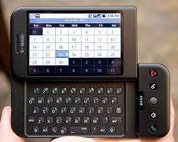 nokia flip phone 2000. the g1 phone was first to be released with android operating system designed by google. also known as htc dream. one million devices have nokia flip 2000 e