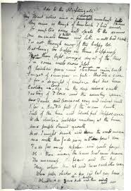 "john keats s manuscript of ""ode to a nightingale"" teoppoet poetteop john keats s manuscript of ""ode to a nightingale"""