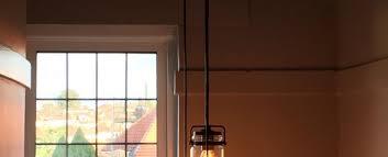 stairwell lighting. stairway jam jar rustic pendant drop stairwell lighting