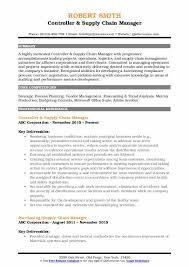 Supply Chain Manager Resume Samples Qwikresume