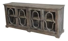 walton sideboard with glass doors