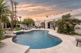Scottsdale Backyard Design Marbella Stone Scottsdale Backyard Remodel Imagine Concrete