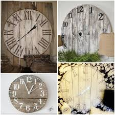 diy clock decor from reclaimed wood from liz marie blog simple round pallet clock tutorial at prodigal pieces paris clock from reclaimed wood at