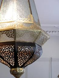 good quality circa 1920s 30s moroccan hanging light