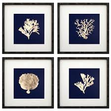 >gold framed wall art framed wall art sets wall art gold coral on  gold framed wall art framed wall art sets wall art gold coral on navy framed wall art set of 4 white and gold framed wall art