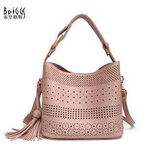 <b>BRIGGS</b> Hollow Out Women Shoulder Bag Female <b>High Quality</b> ...