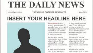 Drive Newspaper Template Google Slides Newspaper Template Magdalene Project Org