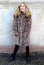 thrifty ootd fun fur coat