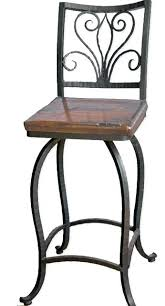 wrought iron bar chairs. Wrought Iron Bar Stools Elegant Alexander 30 Swivel Stool No Arms Traditional At Rod Chairs N