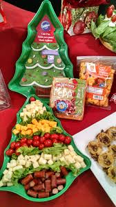 Using a ruler or by hand, cut pastry sheet in a long triangle, the shape of a christmas tree. Christmas Tree Cheese Tray Quick Easy Using A Tree Shaped Cake Pan Add Your Favorite Meats And Chees Christmas Food Christmas Appetizers Christmas Cooking