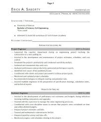 professionally written engineer resume example resumebaking of the resume in an easily understandable manner as this resume does this ensures that no important accomplishments will be missed by the reader