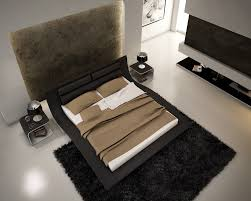 Buy Wave Black King Bed by J and M from Sku