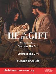 he is gift poster