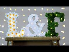 customise your light up letters wedding edition light up letters cool lighting fairy