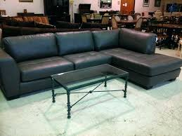 gray leather sectional couch modern grey sofa charcoal canada