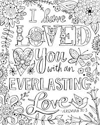 I Have Loved You With An Everlasting Love Bible Verse Jeremiah 51