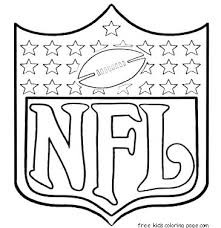 football jersey coloring page printable sports pages for nfl