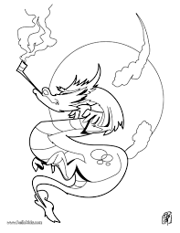 Small Picture Smoking dragon coloring pages Hellokidscom