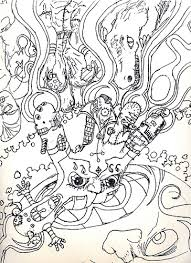 Small Picture Printable Psychedelic Coloring Pages deviantART More Like