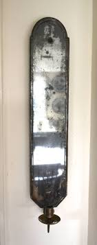 english rare early 18th century mirrored wall sconce for