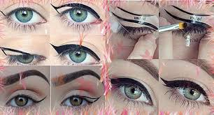 when applying makeup for eye shapes cats eye makeup discover thousands of images about cat eye makeup how to do a cat eye makeup starting from the inner