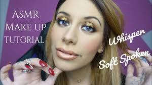 festive makeup tutorial asmr whisper soft spoken ita