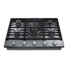gas stove top with griddle. 30 In. Gas Cooktop In Stainless Steel With Stove Top Griddle D