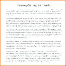 Sample Prenup Examples Of Prenuptial Agreements Syncla Co