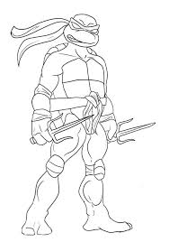 Top 25 Free Printable Ninja Turtles Coloring Pages Online Coloring