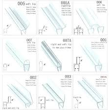 replace rubber seal around shower glass shower door rubber seal replacement see the shower door rubber