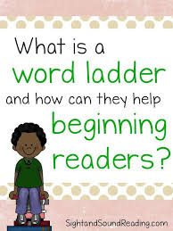 What is a Word Ladder? How can it help your reader.